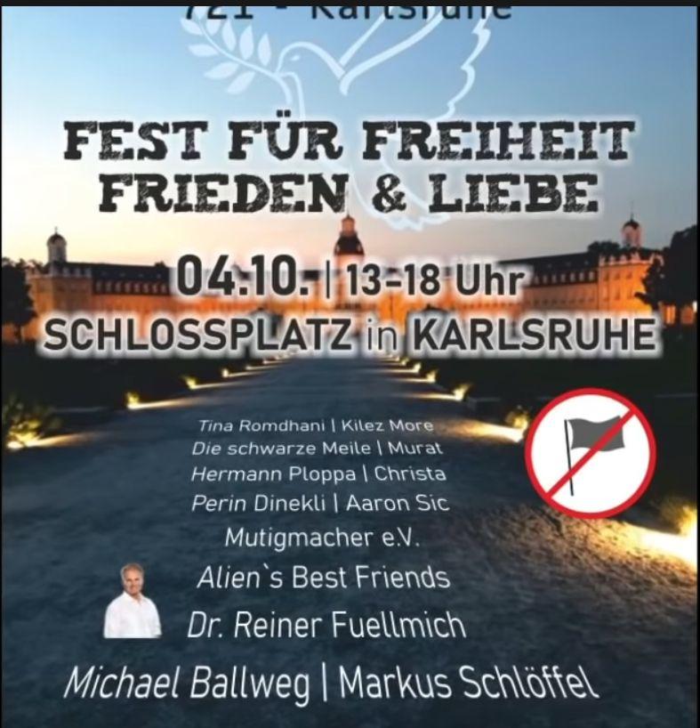 KARLSRUHE | Rede von Dr. Reiner Fuellmich
